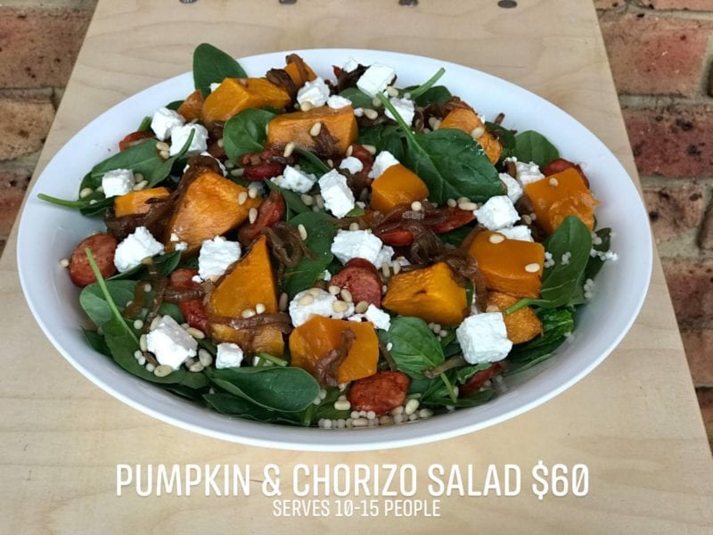 Pumpkin and Chorizo Salad_consdeli