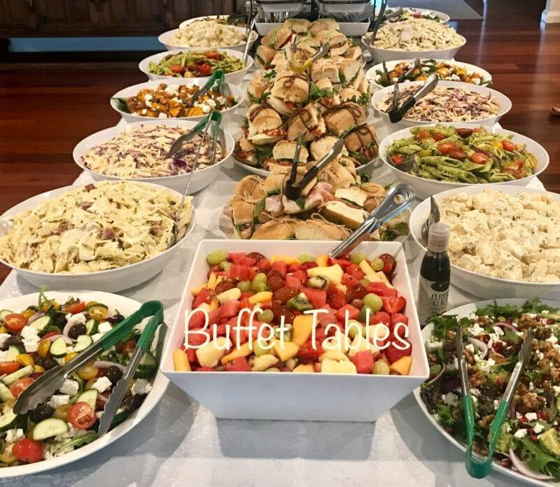 buffet tables_consdeli